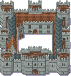 Medieval Castle by PeekyChew