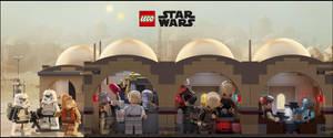LEGO Star Wars Celebration 2017 Cantina