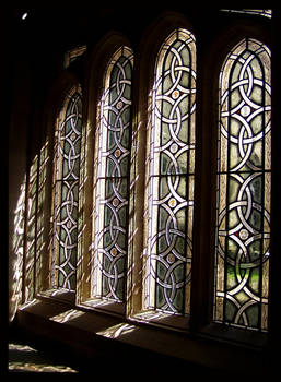 Stained Glass - Medieval style