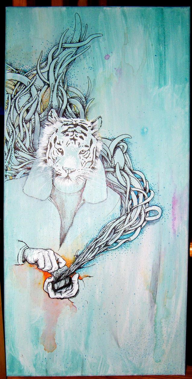 Le Tigre Bleu by johanone