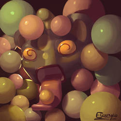 Crazy About Gumballs by Elebeyno