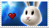 Star Bunny stamp by charlene-stamps