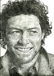 Sam Worthington by zzenkinsein
