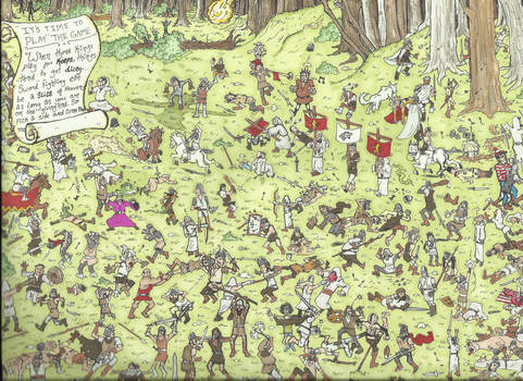 Where in the Whispering Woods is Waldo?