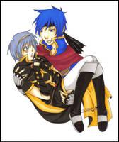 :SSBB:Ike:Prince:Marth: by KaiSuki