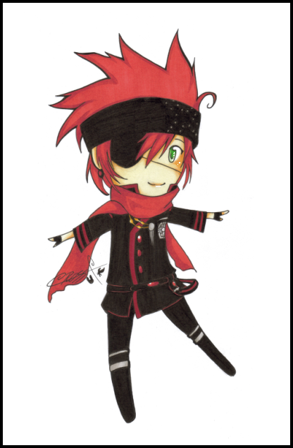 :DGM:Lavi:3rd:Uniform: by KaiSuki