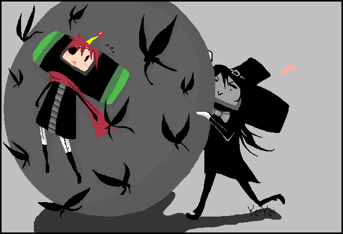 :DGM:Lucky:Katamari: by KaiSuki