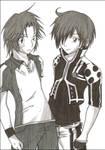 :PoT:DGM:Red:Heads: by KaiSuki