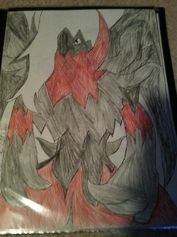 Dark Angel Darkrai by DarkL0rd15