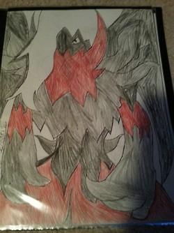 Dark Angel Darkrai by DarkL0rd15