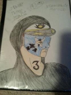 Jhonny Three Tears by DarkL0rd15
