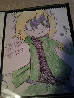 MY O.C ) ToX1C The Wolf! by DarkL0rd15