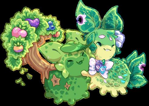 Leafy Siblings