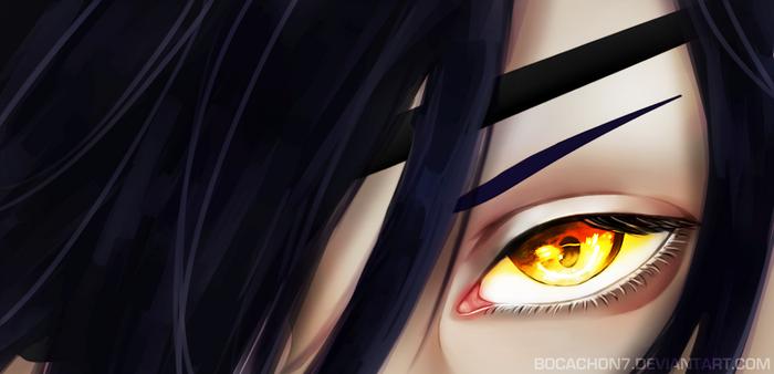 Shokudaikiri Mitsutada's eyes