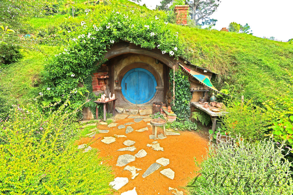 hobbit house lord of the rings by laternamagica studio - Lord Of The Rings Hobbit Home