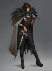 Magpie thief by ViridRain
