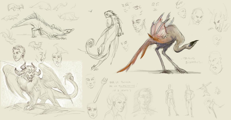 Creatures 210215 by ViridRain