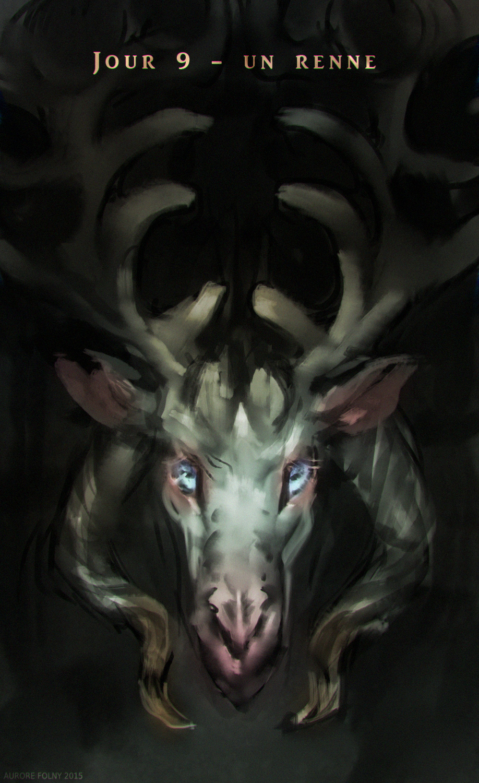 Advent day 9 - a reindeer by ViridRain