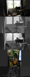 Schoolism - Color and Light - assignment 2 part 1 by ViridRain
