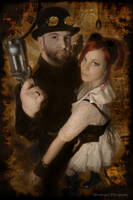 Mr Steam and Ms Punk by pendragon93