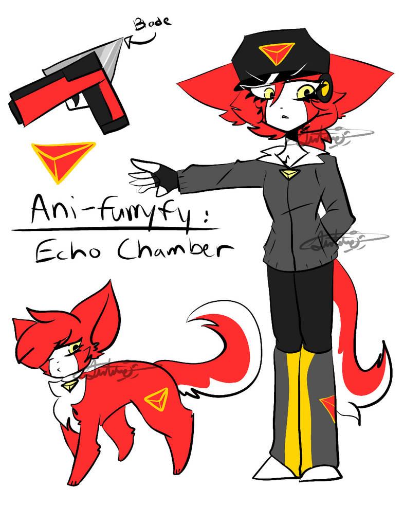 Ani-Furryfied: Echo Kammer by CosmicSunstaa