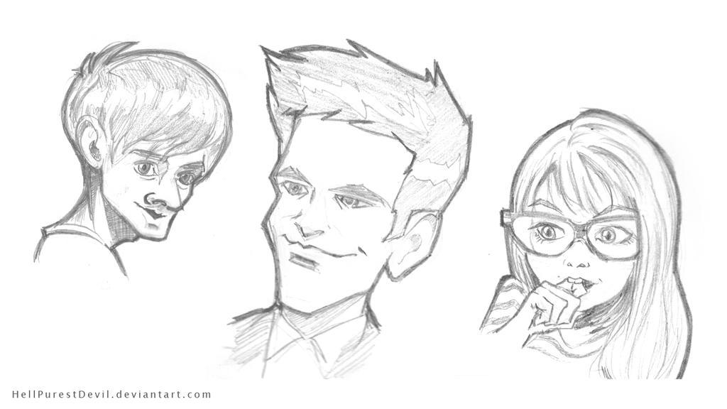 Sketches by HellPurestDevil