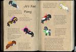 The Jopy, or Fae pony by FrostCoveredFields