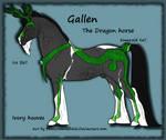 Gallen the Dragon horse FREEBIE