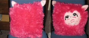 Pinkie .. pillow?