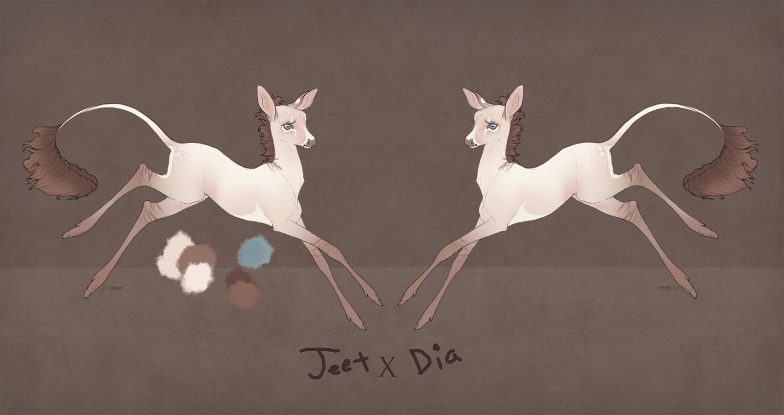 Jeet X Dia design by FrostCoveredFields