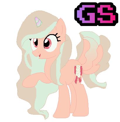 Volpe Custom Female Unicorn Ribbon Lily by GamingStarLuigiSin