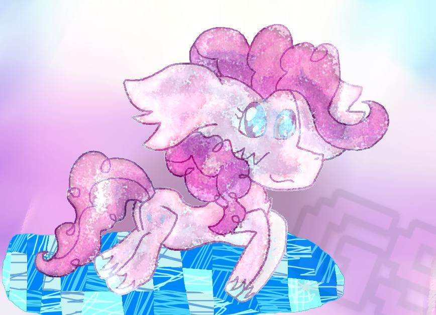 Mario and Luigi Dream Team Style Pinkie Pie by GamingStarLuigiSin