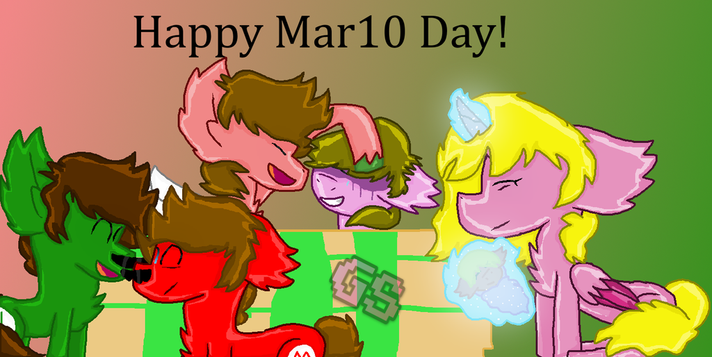 Happy Mar10 Day! by GamingStarLuigiSin