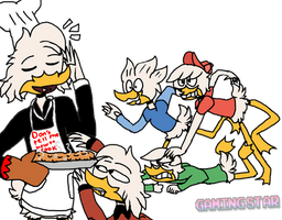 Donald's Cooking by GamingStarLuigiSin
