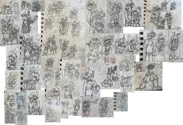 Giant Sketch Dump 2