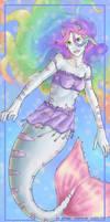Rainbow merlady for Christabel