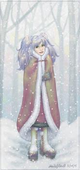 snow portrait