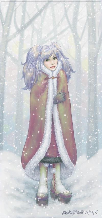 snow portrait by horribletak