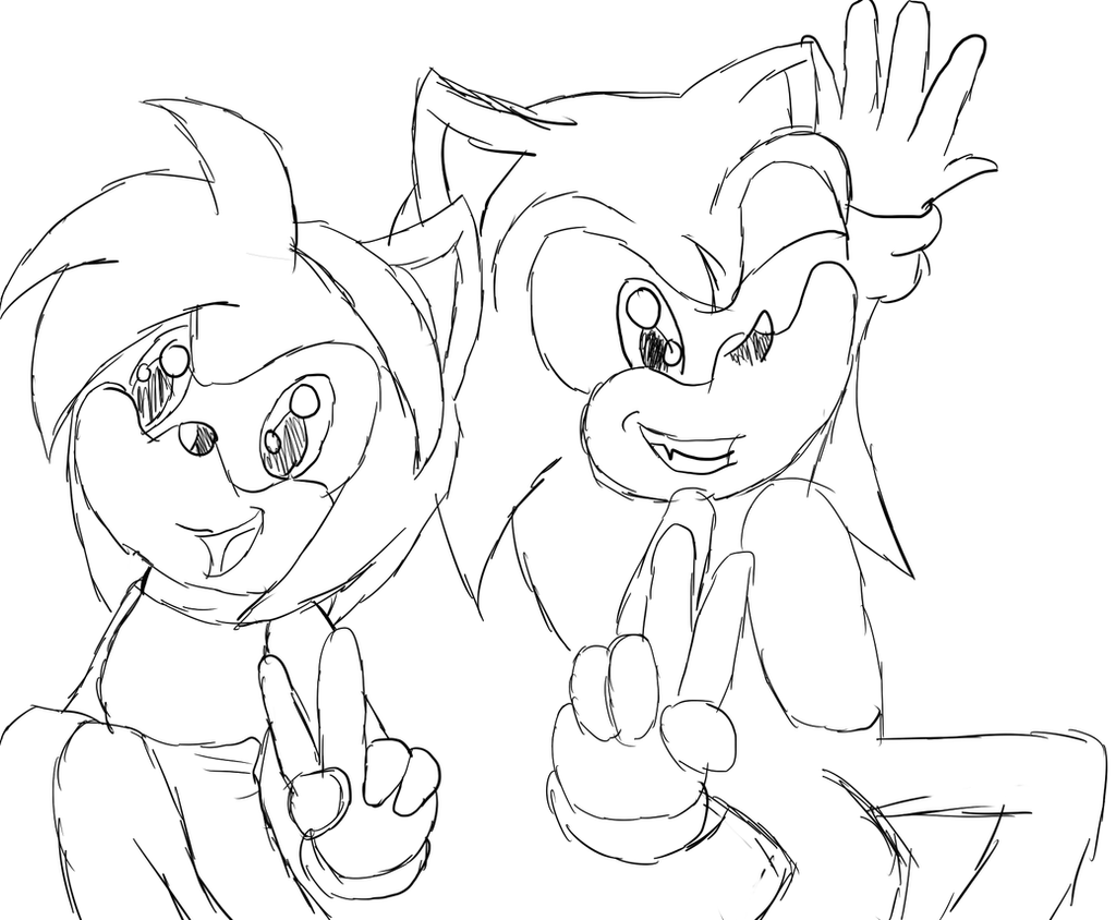 Sonamy sketch by PhotoPhobee