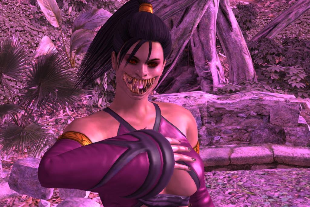 Mileena Unmasked Mortal Kombat By Roboticandroid18 On Deviantart
