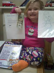 Honey Boo Boo with my Picture Book!