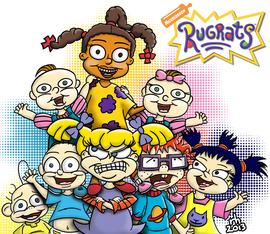 Rugrats All Grown Up Characters Rugrats by ronaldhennessy