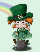 Maddie Mckenszsie - St Patricks Day by ronaldhennessy