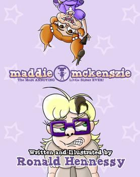 Maddie Mckenszie Children's Book Cover Redesign