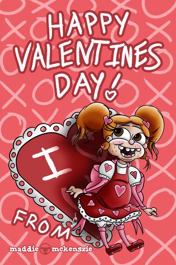 Maddie - Valentines Day 2015 by ronaldhennessy