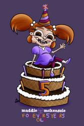 Maddie Mckenszie - Forever Five Years Old