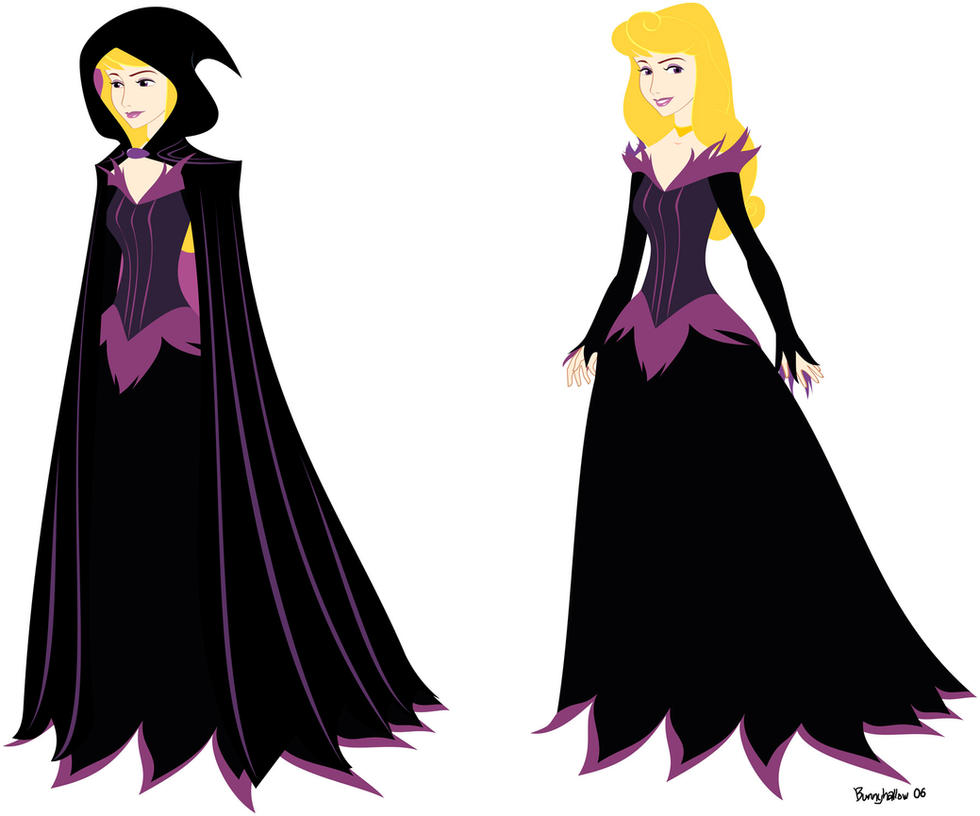 Maleficent dress for Aurora by BunnyHallow on DeviantArt