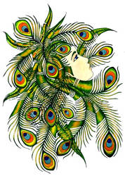 Peacock by kaboushka