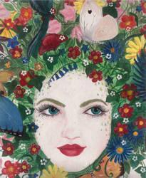 Flowerhead by kaboushka