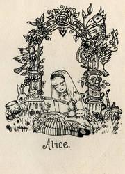 Alice by kaboushka